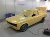 Opel Kadett C Coupe 20E geel (139)