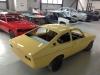 Opel Kadett C Coupe 20E geel (146)